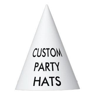 Chapeaux De Fètes Modèle de blanc de casquette de partie de cône
