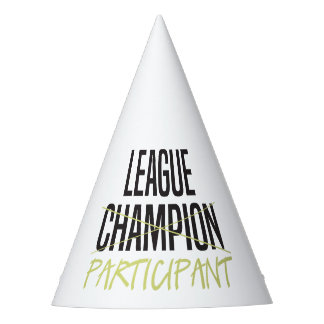 Chapeaux De Fètes Participant de Ligue de Football d'imaginaire