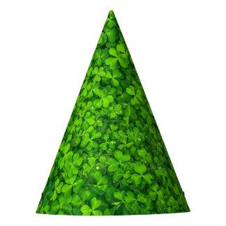 Chapeaux De Fètes Saint Patrick irlandais de photographie de trèfles