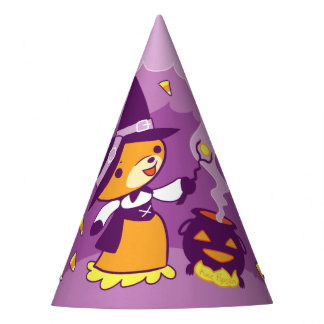Chapeaux De Fètes Sorcière de Fox de Halloween rassemblant la