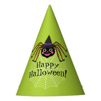 Chapeaux De Fètes Sorcière Halloween d'araignée