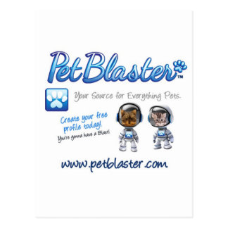 Chapeaux de PetBlaster, T-shirts, tasses, habillem Cartes Postales