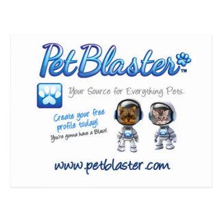 Chapeaux de PetBlaster, T-shirts, tasses, habillem Carte Postale