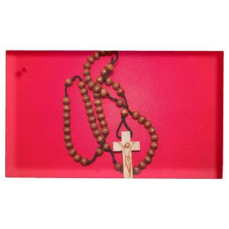 Chapelet avec la croix porte-photo