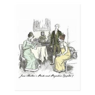 Chapitre 7 Hugh Thomson Jane Austen Carte Postale