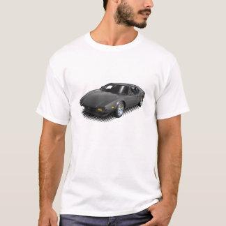 Charbon de bois Pantera sur le T-shirt blanc