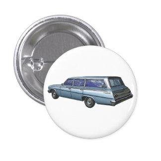 Chariot 1962 de station de Chevrolet de bleu Badge Rond 2,50 Cm