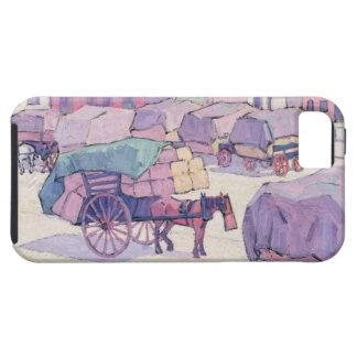 Chariots de foin, marché de Cumberland (huile sur Coque iPhone 5 Case-Mate