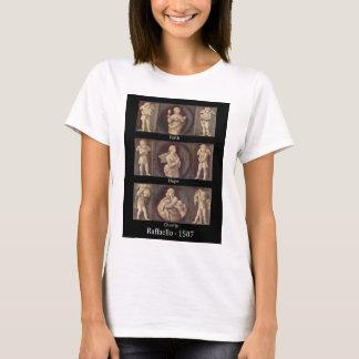 Charité d'espoir de foi par le T-shirt de Raphael