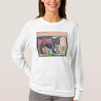 Charlemagne et ses barons étant enchantés t-shirt