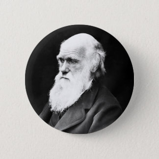 Charles Darwin Badge Rond 5 Cm