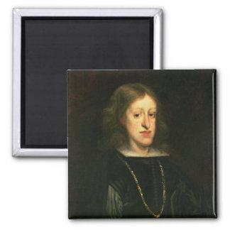 Charles II de l'Espagne Magnet Carré