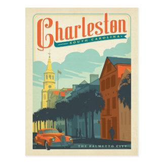 Charleston, Sc - la ville de Palmetto Carte Postale