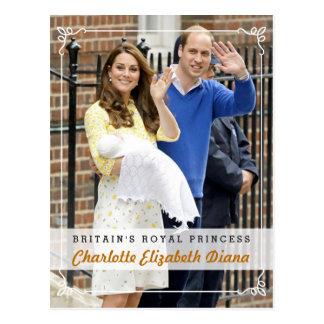 Charlotte Elizabeth Diana - princesse royale Carte Postale