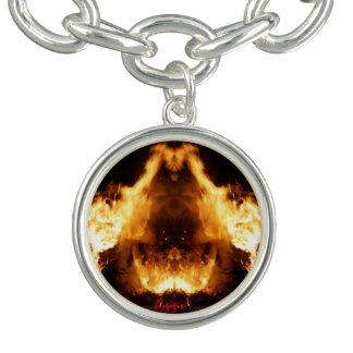 Charm bracelet on fire bygigs