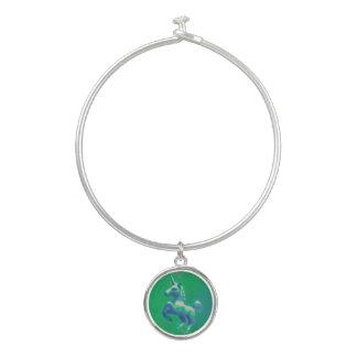 Charme de bracelet de bracelet de licorne
