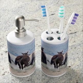 Chasse du lavabo de sable de queue distributeurs de savon
