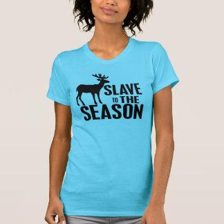 Chasseur drôle de cerfs communs t-shirt