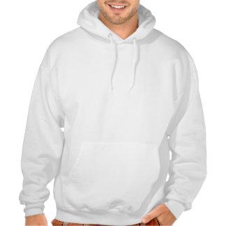 Chasseur drôle de cerfs communs sweatshirt à capuche