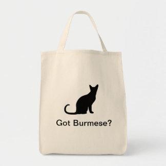 Chat birman obtenu tote bag