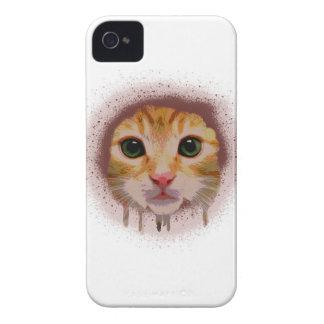 Chat complètement de couleur coques Case-Mate iPhone 4