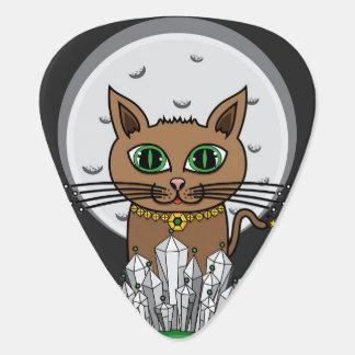 Chat cosmique de lune - bleu/vert - onglet de onglet de guitare
