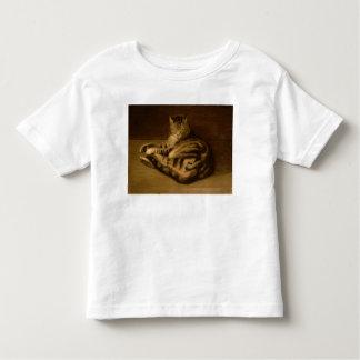 Chat couché, 1898 t-shirt pour les tous petits