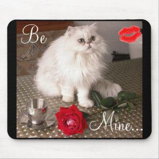 Chat d'amour II Mousepad - personnalisable Tapis De Souris