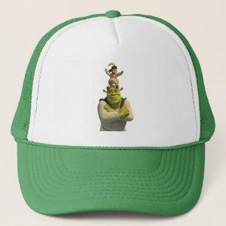 Chat dans les bottes, âne, et Shrek Casquette