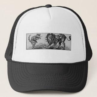 Chat dans les bottes et le Lion-Ogre Casquette
