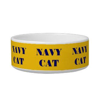 Chat de marine de cuvette d'animal familier bols pour chat