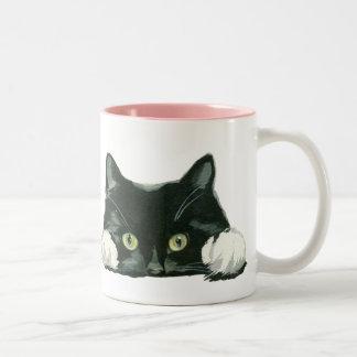 chat drôle de tasse d'amoureux des chats