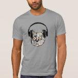chat drôle d'écouteur de djs tshirts