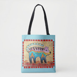 Chat grincheux tote bag