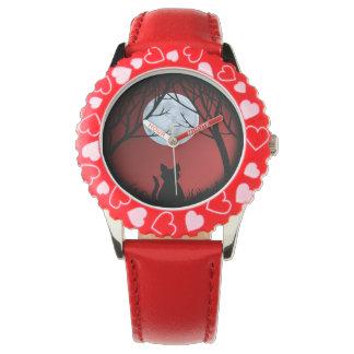 Chat Jewerly de montre-bracelet du chat de Montres Cadran