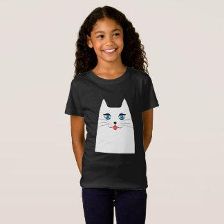 Chat mignon avec la langue collant T-Shirt