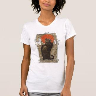 Chat noir - art Nouveau - Theophile Steinland T-shirt