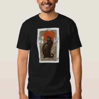 Chat noir - art Nouveau - Theophile Steinlen Tee-shirts