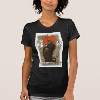 Chat noir - art Nouveau - Theophile Steinlen T-shirts