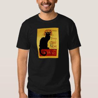 Chat noir Vintage Tournée du Chat Noir, Theophile Tshirt