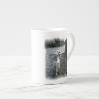 Chat orange mug