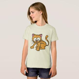 Chat organique de T-shirt de l'habillement