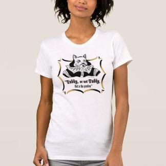 """""""Chat tigré, ou"""" T-shirt non tigré"""