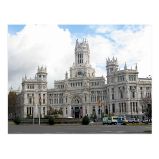Château carte postale à Madrid, Espagne