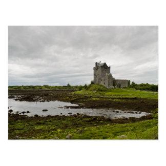 Château de Dunguaire, carte postale de l'Irlande