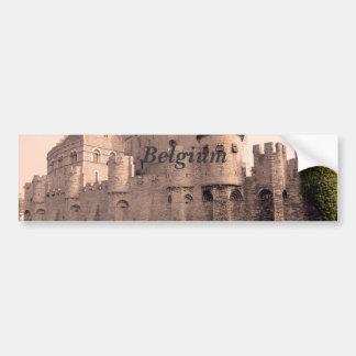 Château de la Belgique Autocollant Pour Voiture