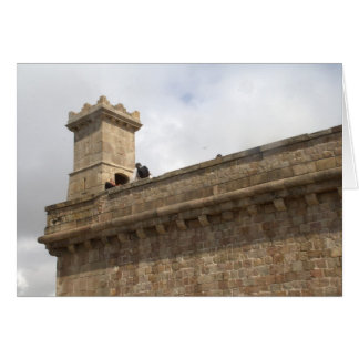 Château de Montjuic, Barcelone Carte