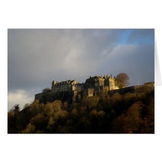 Château de Stirling fin novembre Carte