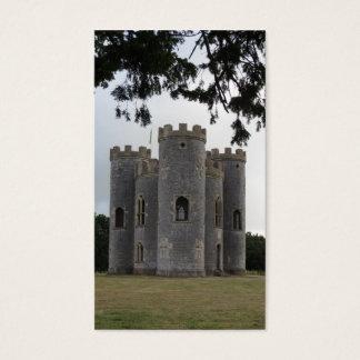 Château médiéval cartes de visite