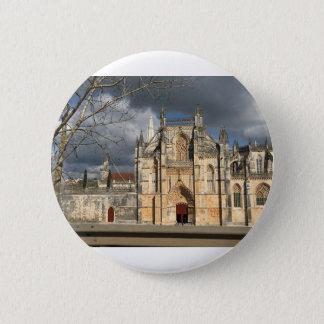 Château portugais badge rond 5 cm